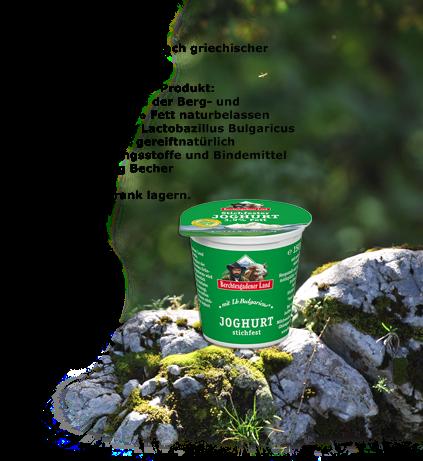NEU - Joghurt Natur, stichfest von Berchtesgadener Land
